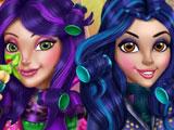 Игры наследники макияж